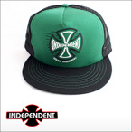 independent【インデペンデント】TC SPEED MESH BLK/GRN