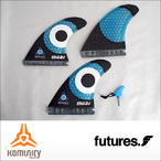 KOMUNITY project【コミュニティプロジェクト】フィン KS 2.1 Thruster Fin Set (FUTURE)
