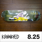 KROOKED【クルキッド】デッキ ANDERSON STREET JUSTIC 8.25×32