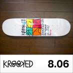 KROOKED【クルキッド】デッキ CROMER KD ULTRA 8.06×32