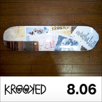 KROOKED【クルキッド】デッキ GONZ COLLAGE 8.06×32