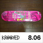 KROOKED【クルキッド】デッキ SEBO WALKER ODD COUPLE 8.06×31.91