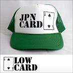 LOWCARD【ローカード】メッシュキャップ LOGO(Green)