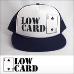 LOWCARD【ローカード】メッシュキャップ LOGO(Navy)