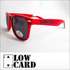 LOWCARD【ローカード】トイサングラス MID SHELF(All Red)