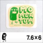 MOMENTUM【モーメンタム】ステッカー7.6×6