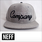 NEFF【ネフ】キャップ THE COMPANY (Grey Heather)