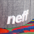 NEFF【ネフ】キャップ DAILYPATTERN (Heather/Tropic)