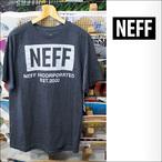 NEFF【ネフ】Tシャツ REFLECTIVE WORLD(チャコールヘザー)