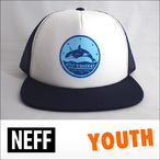 NEFF【ネフ】ユース メッシュキャップ YOUTH FREE RIDE(Blue)
