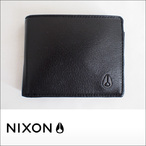 NIXON【ニクソン】二つ折り財布 ARC BI-FOLD WALLET(All Black)
