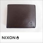 NIXON【ニクソン】二つ折り財布 ARC BI-FOLD WALLET(Brown)
