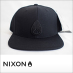 NIXON【ニクソン】キャップ ICON STARTER HAT(All Black)