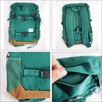 NIXON【ニクソン】バックパック リュックサック SMALL LANDLOCK BACKPACK(Moss Green)