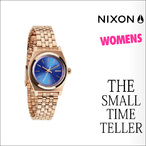 NIXON【ニクソン】時計 THE SMALL TIME TELLER (ROSE GOLD/COBALT)