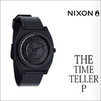 NIXON【ニクソン】時計 THE TIME TELLER P(All Black Shadow)