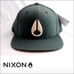 NIXON【ニクソン】キャップ DEEP DOWN MARLE STRARTER HAT Spruce