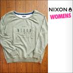 NIXON【ニクソン】トレーナー [Women's] CAPTIVATED CREW 2 サイズ:S