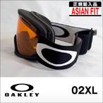 OAKLEY【オークリー】ゴーグル 02XL MatteBlack / Persimmon (アジアンフィット)