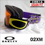 OAKLEY【オークリー】ゴーグル 02XL Neuron Retina Purple / Persimmon (アジアンフィット)