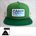 Poler Camping Stuff【ポーラーキャンピングスタッフ】メッシュキャップ CAMP VIBES TRUCKER CAP(Grass)