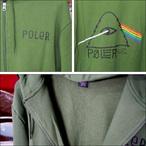 Poler Camping Stuff【ポーラーキャンピングスタッフ】ジップパーカー PSYCHEDELIC ZIP HOODIE (Grass) サイズ:M