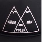 Poler Camping Stuff【ポーラーキャンピングスタッフ】メッシュキャップ VENN TRUCKER CAP(Black)
