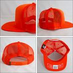 Poler Camping Stuff【ポーラーキャンピングスタッフ】メッシュキャップ VENN TRUCKER CAP(Burnt Orange)