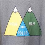 Poler Camping Stuff【ポーラーキャンピングスタッフ】ジップパーカー VENN ZIP HOODIE (Gray Heather) サイズ:M