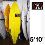 PRESSENT Surfboards【プレゼント】DRONPA-Eモデル 5'10×49cm×6.2cm