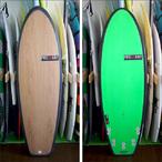 PRESSENT Surfboards【プレゼント】DRONPA Q (5fin/EPS/ノーストリンガーモデル) 5.6×51.5×5.8
