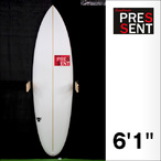 PRESSENT Surfboards【プレゼント】T-80PU (シングルBOXモデル) 6.1×50×6.3