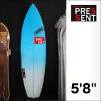 PRESSENT Surfboards【プレゼント】DRONPA EPSモデル サーフボード (EPS SUPERFLEX/5FIN) 5.8 1/2×18 3/8×2 1/8