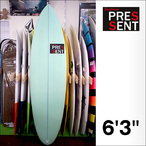PRESSENT Surfboards【プレゼント】FUN(EPS) 6'3×50×6.0