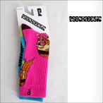Psockadelic【ソッケデリック】ソックス TRIPPIN (Pink×Blue)