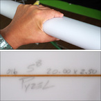 PYZEL【パイゼル】サーフボード THE JAPAN NUGGETモデル FCSII 5'8×20×2.5