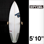 PYZEL【パイゼル】サーフボード JJF SLAB2.0モデル FCSII 5'10×19.25×2.38
