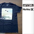 PYZEL【パイゼル】Tシャツ JJ photo HURLYコラボ (Black)