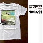 PYZEL【パイゼル】Tシャツ JJ photo HURLYコラボ (White)