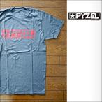 PYZEL【パイゼル】Tシャツ LOGO (Gray×Red)