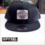 PYZEL【パイゼル】メッシュキャップ PQ logo(Black)