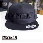 PYZEL【パイゼル】メッシュキャップ SNAPBACK LOGO(Black)