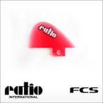 ratio【レイシオ】フィン ミニレイシオ タイプ2 クリアーレッド FCS