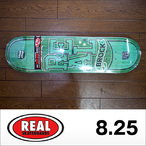 REAL【リアル】スケボーデッキ BROCK TIMBER (LOWPRO2) FULL SHAPE 8.25×32.22