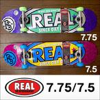 REAL【リアル】コンプリート スケボー real-sdobol 7.5/7.75