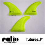 ratio【レイシオ】フィン GB-03 FUTURES(ネオンイエローメッシュ)