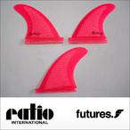 ratio【レイシオ】フィン RS-03 FUTURES(ネオンピンクメッシュ)