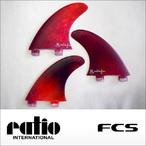 ratio【レイシオ】フィン RS-03 FCS(レッドタイダイ)