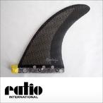 ratio【レイシオ】ロングボード用フィン RLS-03 エフェクトシステム(ブラックメッシュ)