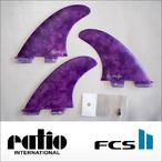 ratio【レイシオ】フィン RST-CL FCS II(パープルタイダイ)